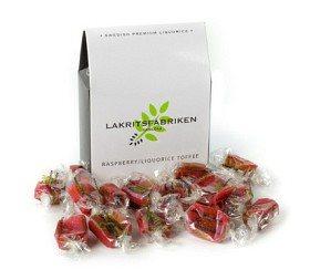 Bild på Lakritsfabriken Raspberry Liquorice Toffee