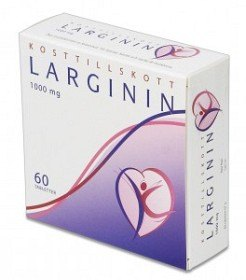 Bild på Larginin 60 kapslar