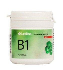 Bild på Ledins B1 Vitamin 100 mg, 50 tabletter