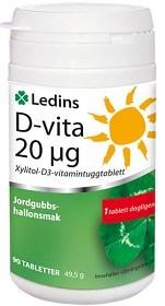 Bild på Ledins D-vita 20 µg 90 tabletter