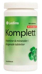 Bild på Ledins Komplett multivitamin 100 tabletter