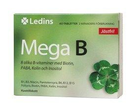 Bild på Ledins Mega B 60 tabletter