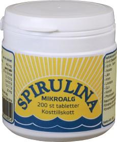Bild på Lindroos Spirulina Alg 200 tabletter