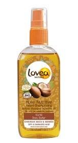Bild på Lovea Before Shampoo Oil Shea Butter 125 ml
