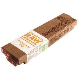 Bild på Lovechock Raw Chocolate Almond & Fig 40 g