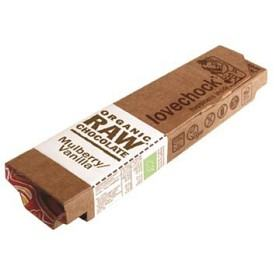 Bild på Lovechock Raw Chocolate Mulberry & Vanilla 40 g