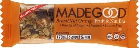 Bild på MadeGood Bar Brazil Nut & Orange