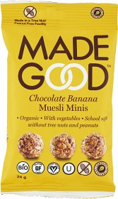 Bild på MadeGood Granolabollar Choklad Banan