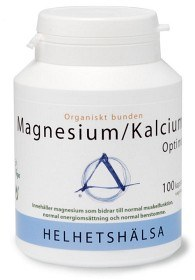 Bild på Helhetshälsa Magnesium/Kalcium Optimal 100 kapslar
