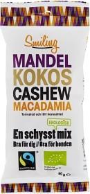 Bild på Smiling Mandel Kokos Cashew Macadamia 50 g