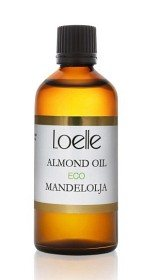 Bild på Loelle Mandelolja kallpressad 100 ml