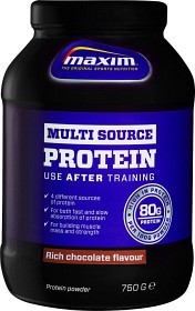 Bild på Maxim Strength Multisource Protein Rich Chocolate 750 g