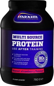 Bild på Maxim Strength Multisource Protein Sweet Strawberry 750 g