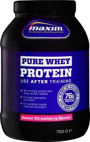 Bild på Maxim Strength Pure Whey Protein Sweet Strawberry 750 g