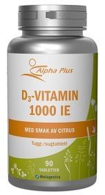 Bild på D3-vitamin 1000 IE 90 tuggtabletter