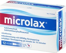 Bild på Microlax mikrolavemang 12 x 5 ml