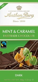 Bild på Anthon Berg Mint Caramel Fairtrade 100 g