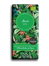 Bild på Dark Chocolate with Mint Crunch 100 g