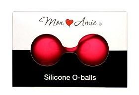 Bild på Mon Amie Silicone O-balls knipkulor rosa
