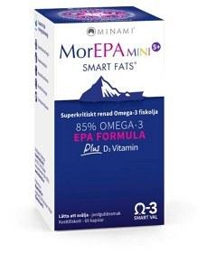 Bild på MorEPA Mini med D-vitamin 60 kapslar