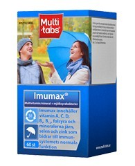 Bild på Multi-tabs Imumax multivitamin 60 st