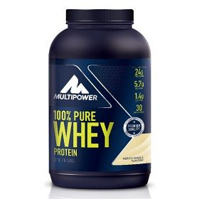 Bild på Multipower 100% Pure Whey Protein French Vanilla 900 g