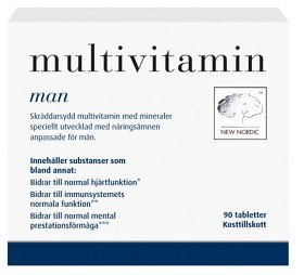 Bild på Multivitamin Man 90 tabletter