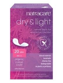 Bild på Natracare Ekologiskt Inkontinensskydd Dry & Light 20 st