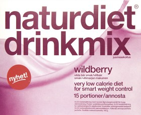 Bild på Naturdiet Drinkmix Wildberry 15 portioner