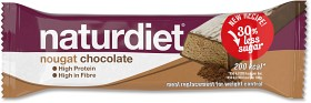 Bild på Naturdiet Mealbar Nougat Chocolate 58 g