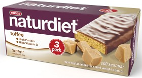 Bild på Naturdiet Mealbar Toffee 3-pack