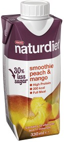 Bild på Naturdiet Smoothie Peach & Mango 330 ml