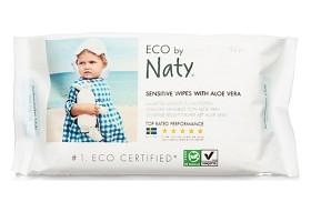 Bild på Naty Sensitive Wipes with Aloe Vera 56 st