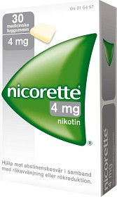 Bild på Nicorette, medicinskt tuggummi 4 mg 30 st
