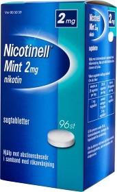 Bild på Nicotinell Mint komprimerad sugtablett 2 mg 96 st
