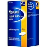 Bild på Nicotinell Tropisk frukt, medicinskt tuggummi 4 mg 96 st