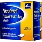 Bild på Nicotinell Tropisk frukt, medicinskt tuggummi 4 mg 204 st
