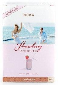 Bild på Noka Milkshake Jordgubb 15 portioner