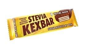 Bild på Stevia Kexbar Vanilj/Choklad 40 g