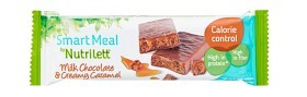 Bild på Nutrilett Milk Chocolate & Creamy Caramel Bar 60 g