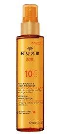 Bild på NUXE SUN Tanning Oil Face & Body SPF 10