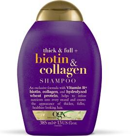 Bild på OGX Biotin & Collagen Shampoo