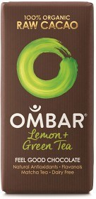 Bild på Ombar Lemon & Green Tea 35 g