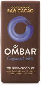 Bild på Ombar Probiotic Coconut 35 g
