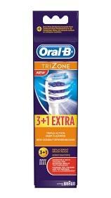Bild på Oral-B TriZone borsthuvud 3+1 st