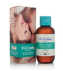 Bild på Organic Baby Bath & Massage Oil 95 ml