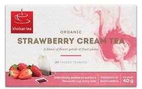 Bild på Khoisan Strawberry Cream Tea 20 st