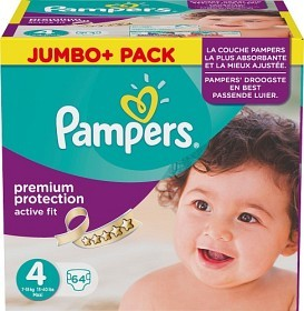 Bild på Pampers Active Fit S4 7-18 kg 64 st