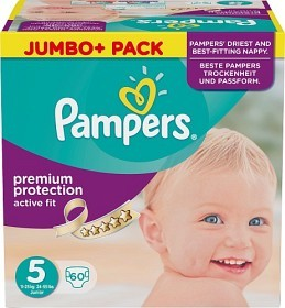 Bild på Pampers Active Fit S5 11-23 kg 60 st