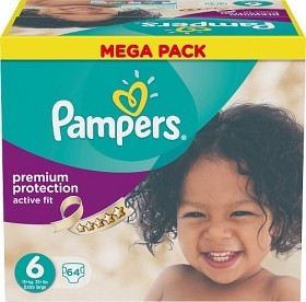 Bild på Pampers Active Fit S6 15+ kg 64 st